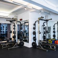 gym, locker room, boxing,