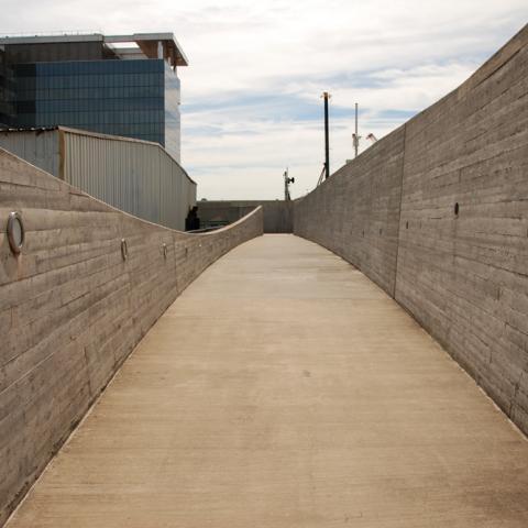 water, concrete,