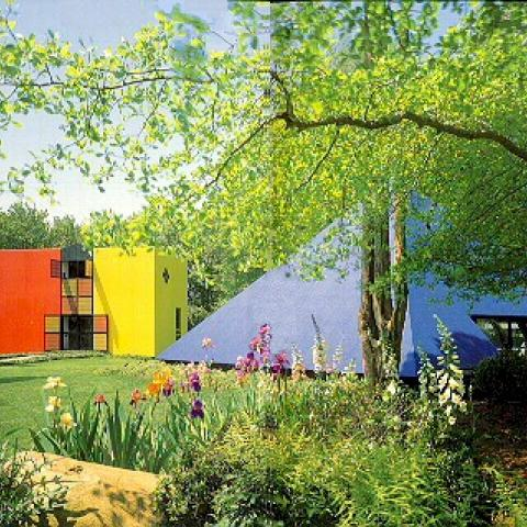 Hamptons, colorful, modern, contemporary,