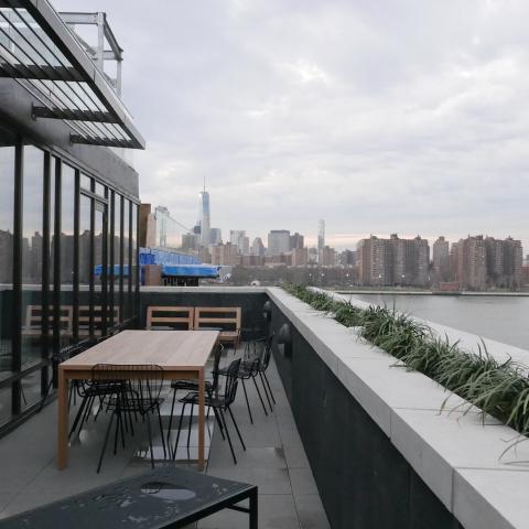 apartment, modern, terrace, city view,