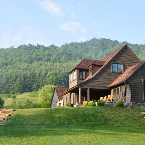 rural, water, barn, porch, patio, field, Asheville,