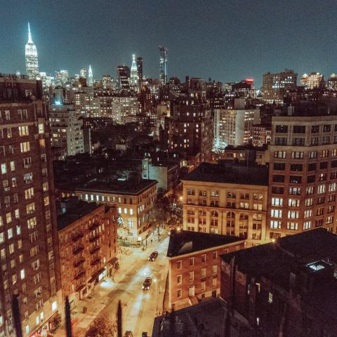 penthouse, rooftop, city view, upscale, traditional, ornate, skyline,