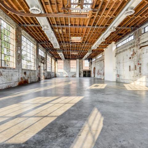 industrial, loft, light, concrete,