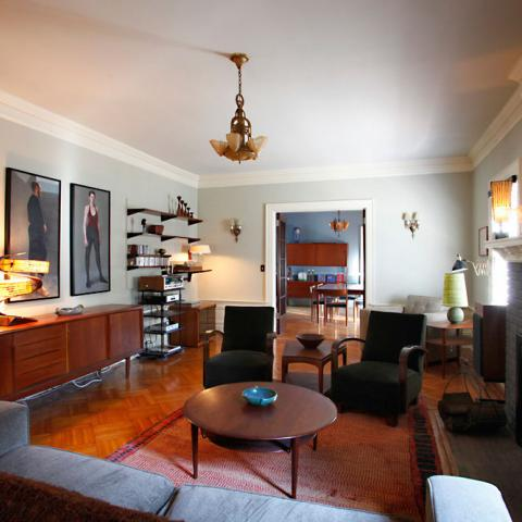 suburban, contemporary, garden, kitchen, patio, deck, fireplace,