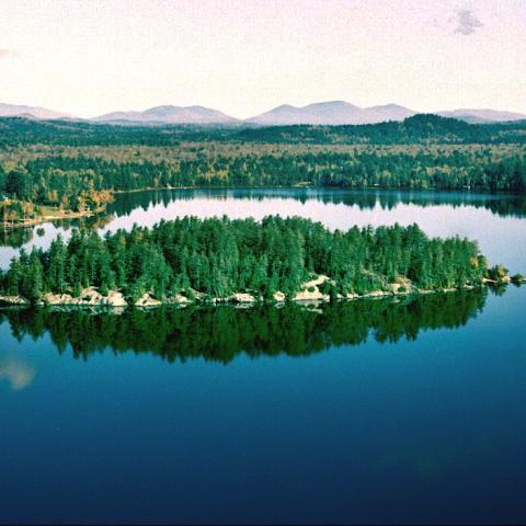 lake, rustic, traditional, cabin, water, pool,
