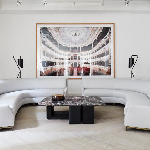 loft, modern, contemporary, white, sleek,