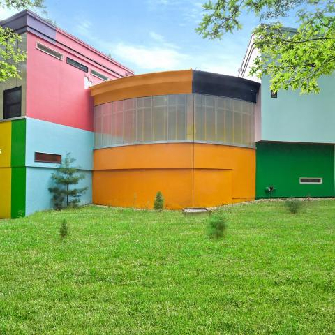 modern, colorful,
