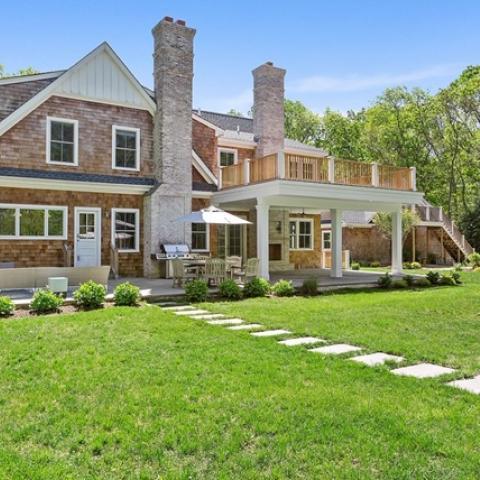 Hamptons, contemporary, pool, porch, patio, deck,