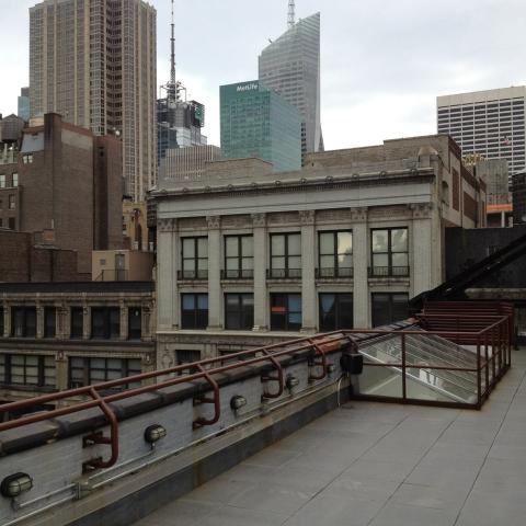 rooftop, urban,