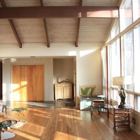 modern, contemporary, suburban, light, wood,