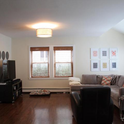 suburban, contemporary, kitchen, porch, deck,