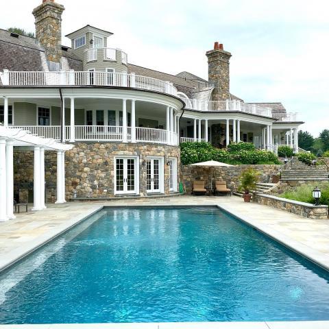 farm, stable, horse, pool, shingled, deck, kitchen, upscale,