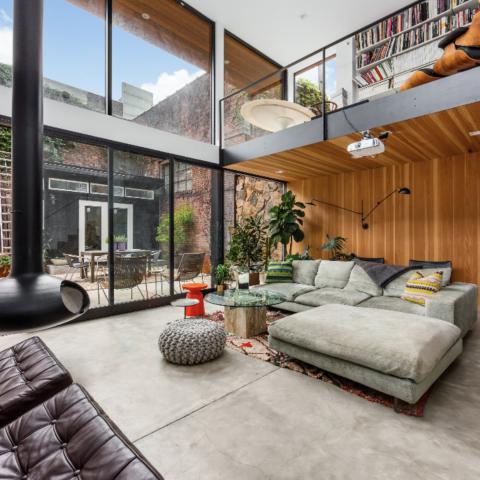 modern, contemporary, fireplace, kitchen, bathroom, garden, staircase,