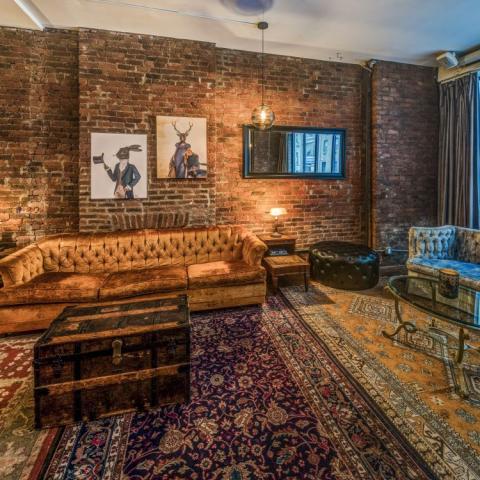 loft, bohemian, eclectic, funky, bar,