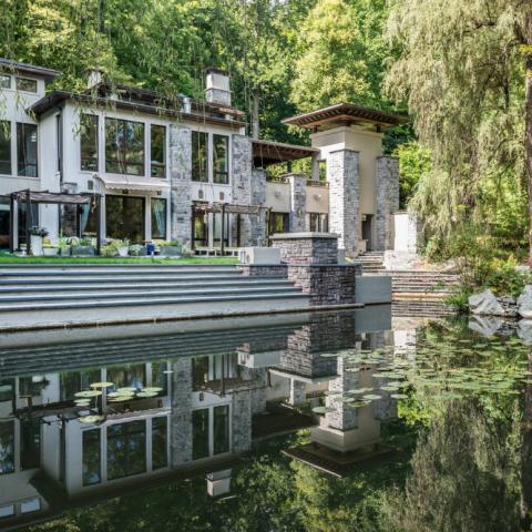 modern, rural, water, contemporary, deck, stone,