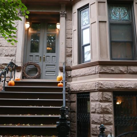 brownstone, wood, traditional, contemporary, kitchen,