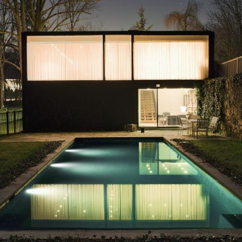 modern, contemporary, minimal, lawn, clean, glass, garden, pool,