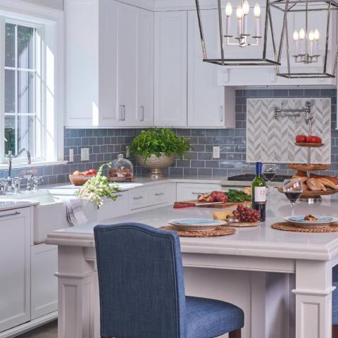 suburban, contemporary, kitchen, staircase, bathroom,