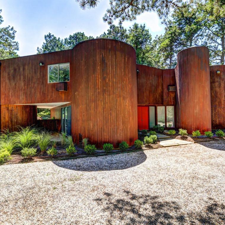 Hamptons, pool, deck, contemporary, wood,