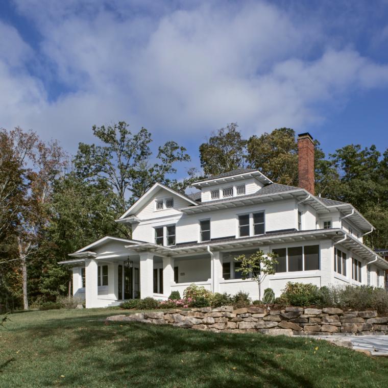 suburban, contemporary, garden, barn, kitchen, bathroom, porch,