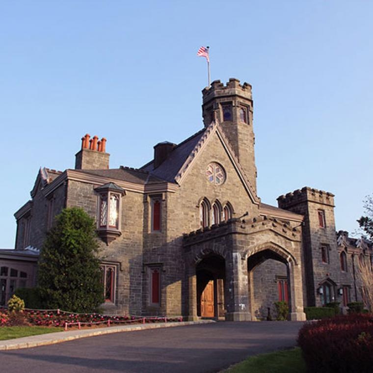 castle, traditional, pool, lawn, mansion, golf,
