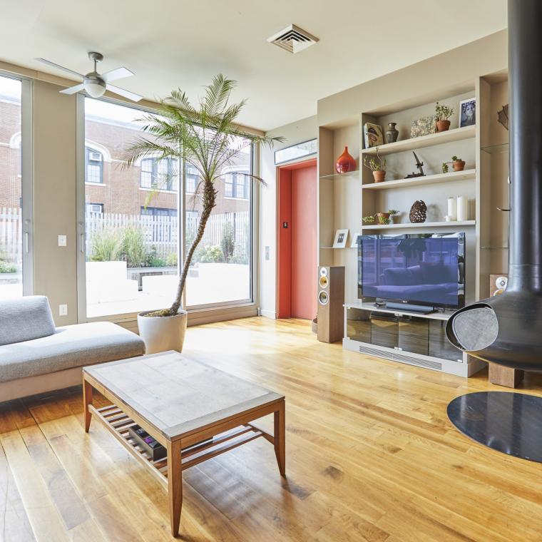 loft, apartment, contemporary, light, terrace, city view,