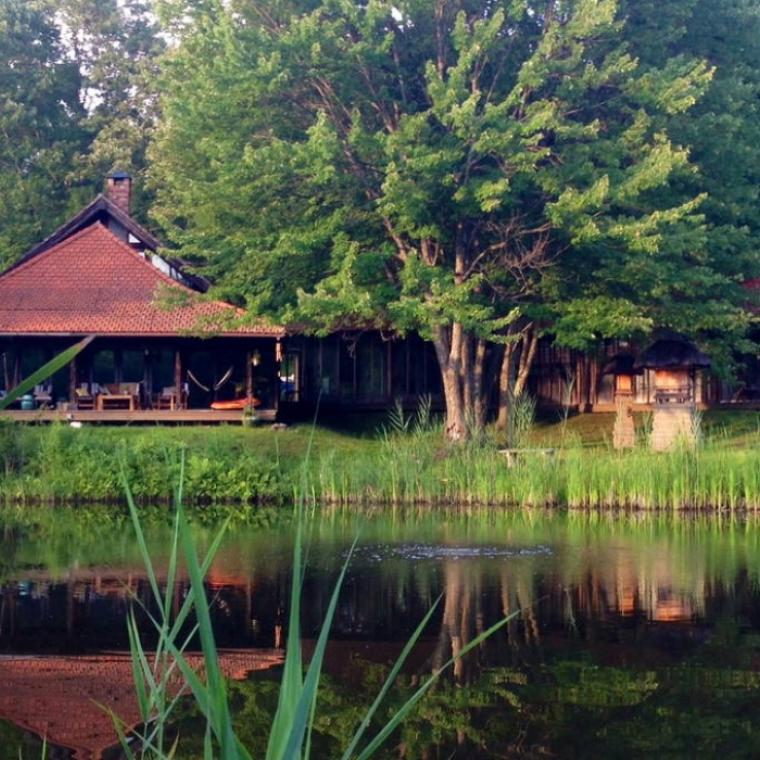 rural, eclectic, bohemian, country, lake,