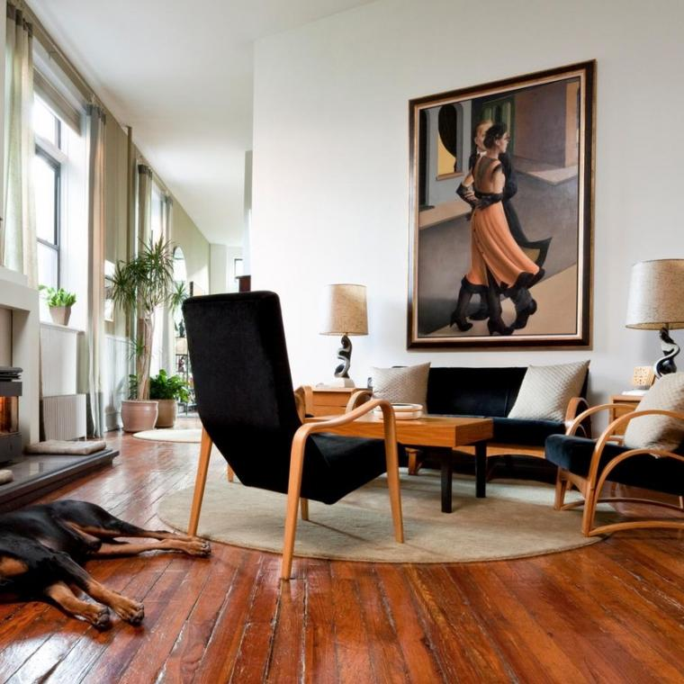apartment, eclectic, contemporary,
