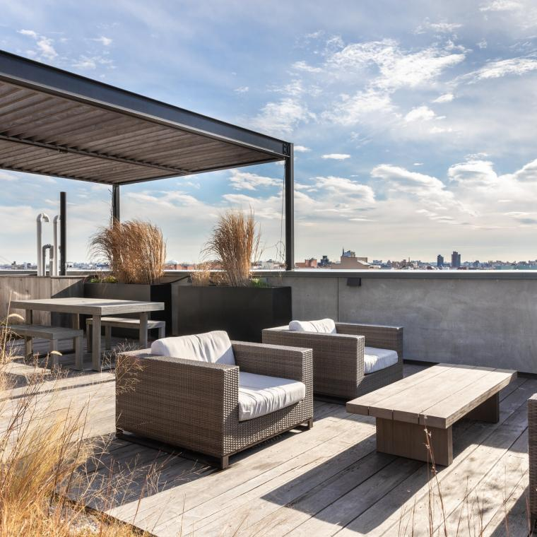 apartment, penthouse, loft, rooftop, city view, contemporary, modern,