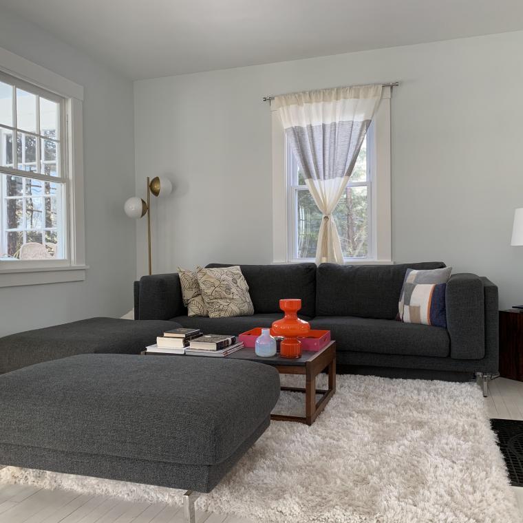 Hamptons, shingled, contemporary, airy, white,