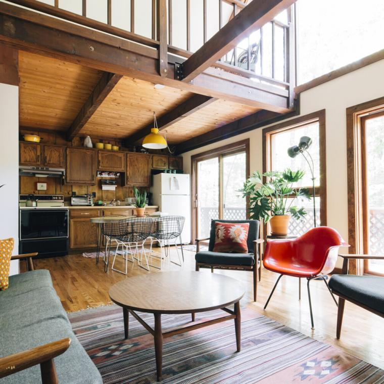 cabin, log house, rural, lake, deck, fireplace, rustic,