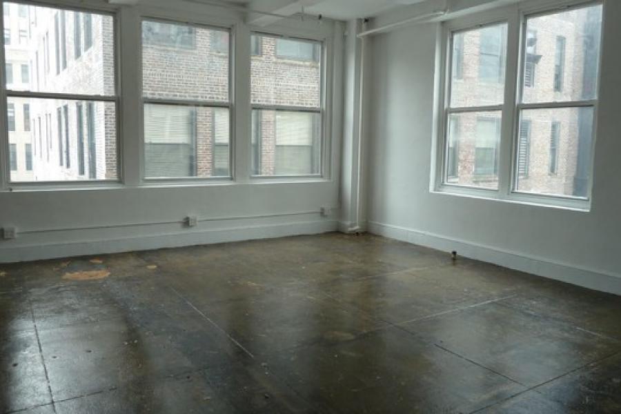 loft, apartment, concrete,