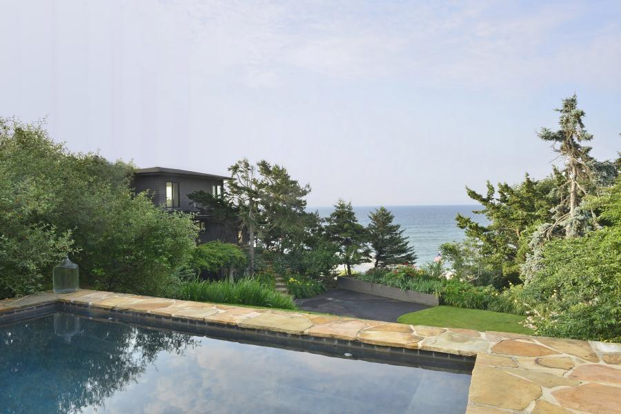 Hamptons, contemporary, pool,