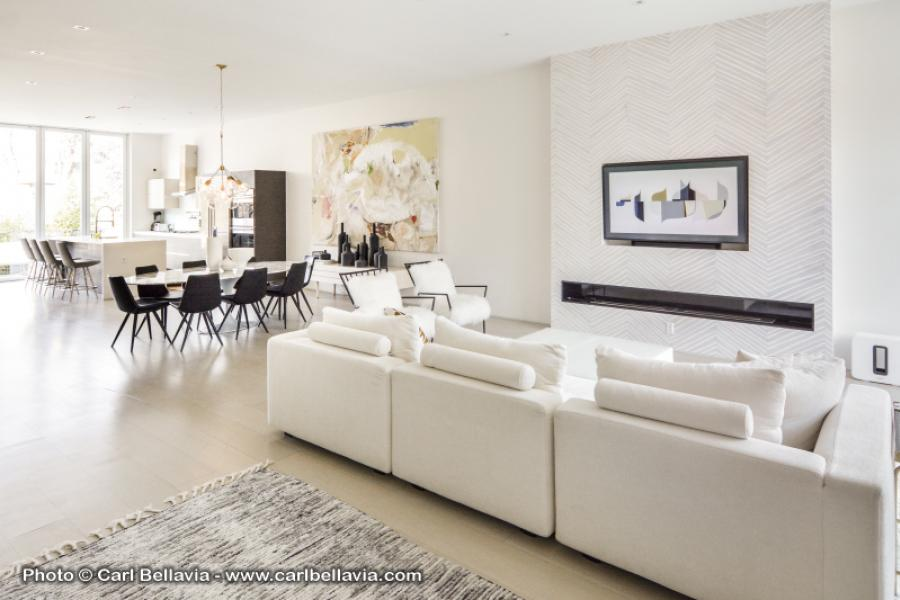 townhouse, contemporary, modern, light, white, glass, bathroom, kitchen,