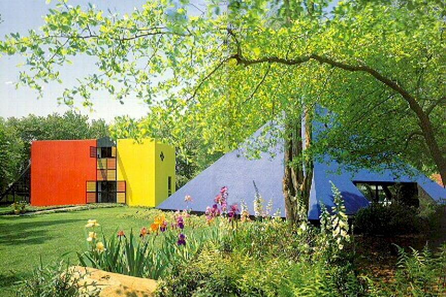 Hamptons, colorful, modern, contemporary,