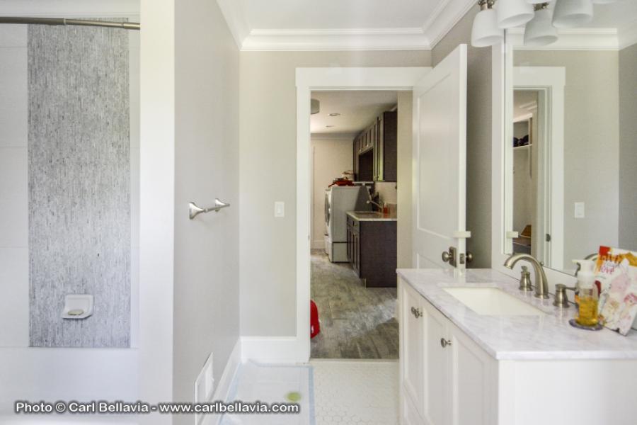 contemporary, light, airy, suburban, kitchen, bedroom, bathroom,