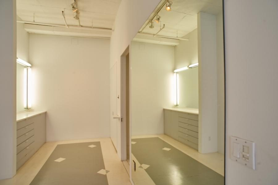 loft, studio, white, apartment,