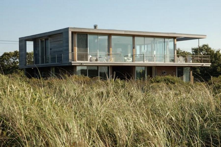 modern, beach, Hamptons, pool, glass, light, airy, deck,