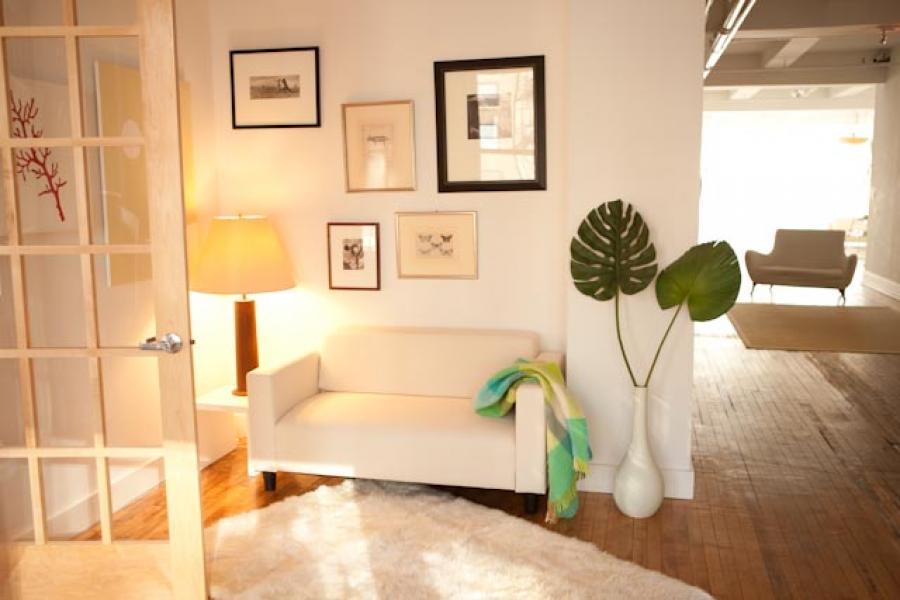 contemporary, light, loft, kitchen, bathroom,