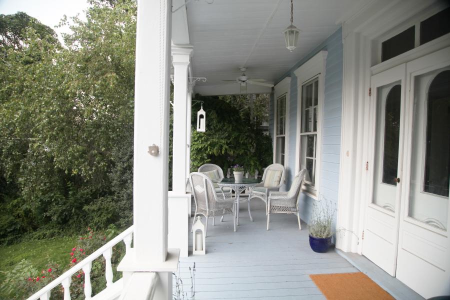 contemporary, garden, deck,