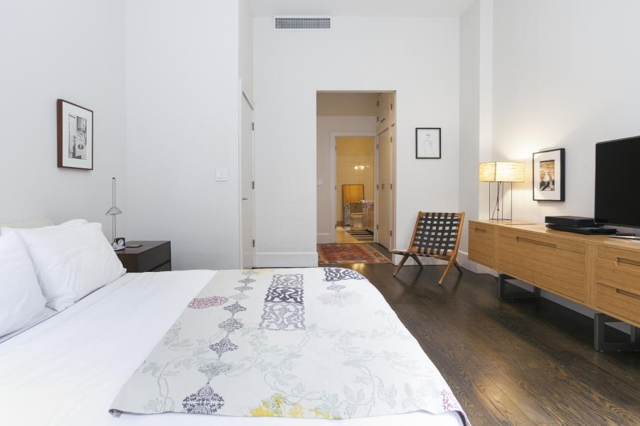 apartment, loft, light, white, wood,