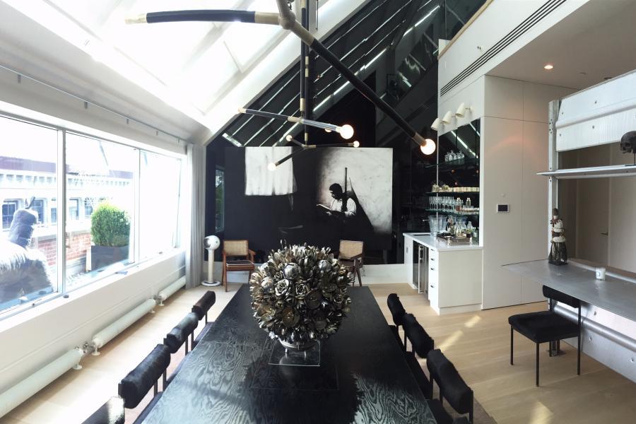 apartment, modern, glass, kitchen, bathroom,