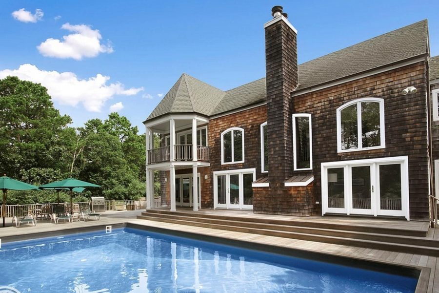 Hamptons, contemporary, pool, tennis, gym,