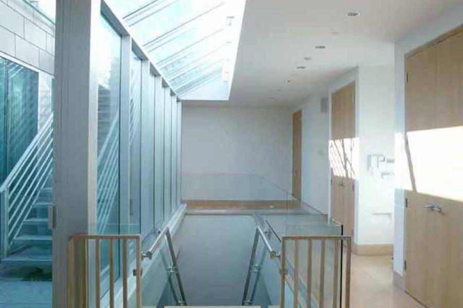 apartment, contemporary, upscale, modern, white, terrace, staircase,