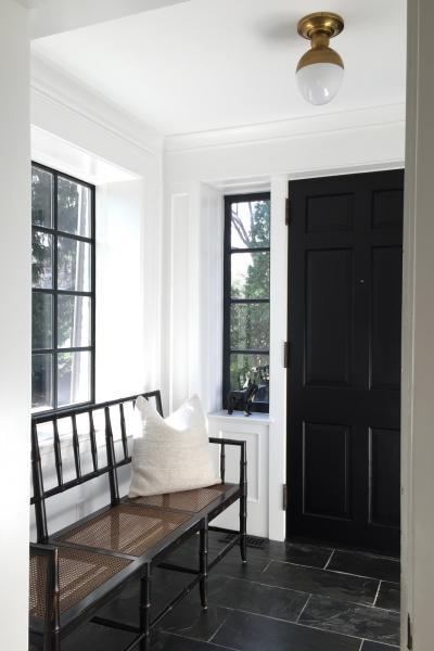 suburban, contemporary, white, light, kitchen,