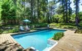 Hamptons, pool, deck, contemporary, wood,