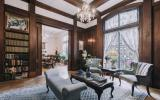 mansion, townhouse, upscale, opulent, terrace, rooftop, staircase, traditional,