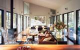 cabin, glass, wooded, light, airy, contemporary,