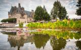 estate, mansion, grand, upscale, greenhouse, pond, terrace,