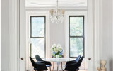 brownstone, townhouse, contemporary, modern, white, light, bathroom, kitchen,